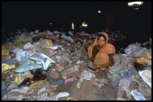 Sorting plastics for recycling, Mumbai