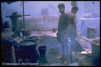 Textile dying Bhavani, Tamil Nadu