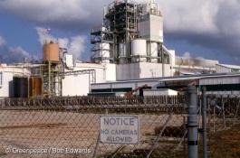 Vista Chemicals PVC plant, Lake Charles, Louisiana.