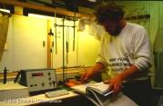 Exeter Laboratory scientist Dr. Paul Johnston.