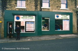 """""""Clean World"""" of West Vale. First 100% non-chemical dry cleaners in UK. Yorkshire, UK."""