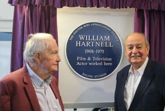 William Hartnell plaque Michael