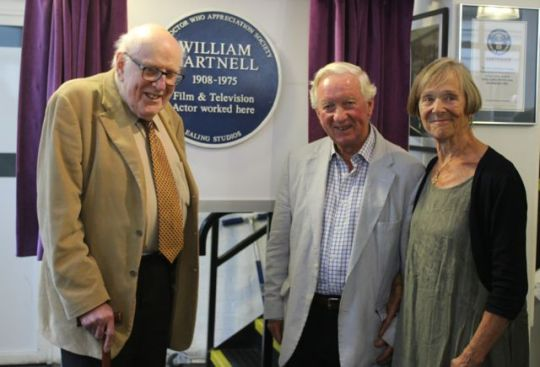 William Hartnell plaque